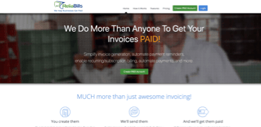 ReliaBills website