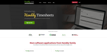 Handdy website